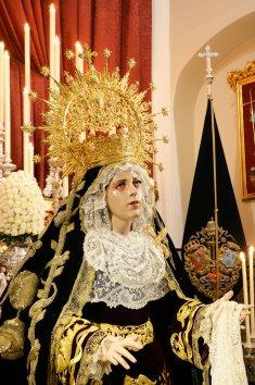 Besamanos de Ntra. Sra. del Mayor Dolor en su Soledad. MIGUEL ÁNGEL ROMANO (5)