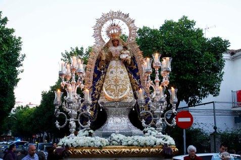 Traslado a San Gonzalo de la Virgen del Rosario del Barrio León. LUIS MANUEL JIMÉNEZ (11)