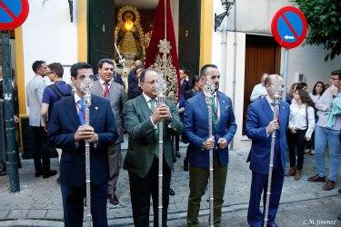 Traslado a San Gonzalo de la Virgen del Rosario del Barrio León. LUIS MANUEL JIMÉNEZ (2)