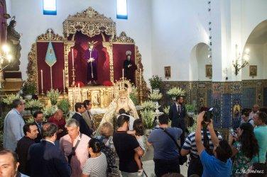 Besamanos Virgen de la Salud Agosto 2018. LUIS MANUEL JIMÉNEZ (1)