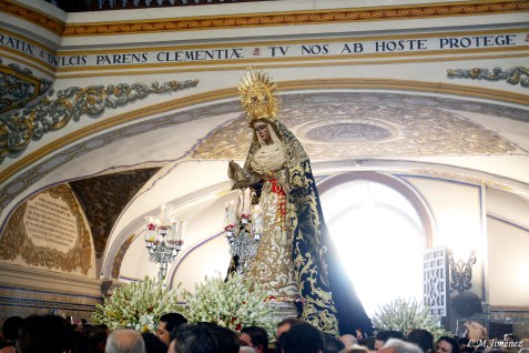 Rosario de la aurora Esperanza de Triana. LUIS MANUEL JIMÉNEZ (10)