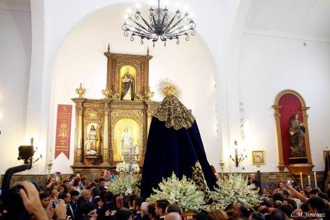 Rosario de la aurora Esperanza de Triana. LUIS MANUEL JIMÉNEZ (31)