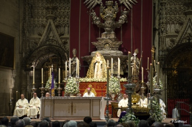 Virgen de la Victoria, coronación (3)