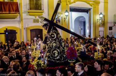 Viacrucis Tres Caidas de Triana Joaquín Galán © 2019 001