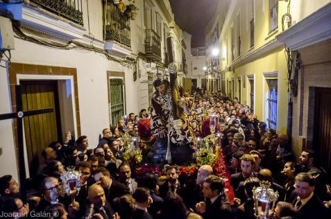Viacrucis Tres Caidas de Triana Joaquín Galán © 2019 007