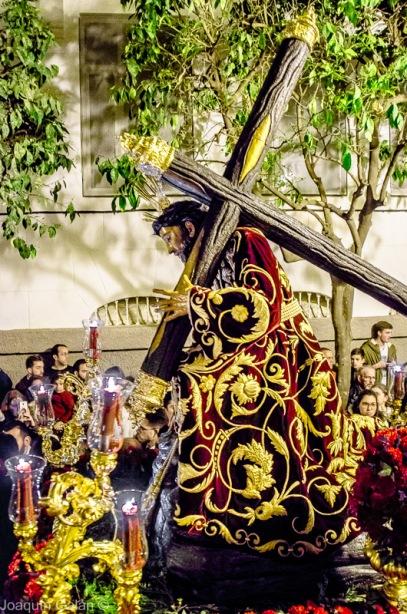 Viacrucis Tres Caidas de Triana Joaquín Galán © 2019 013