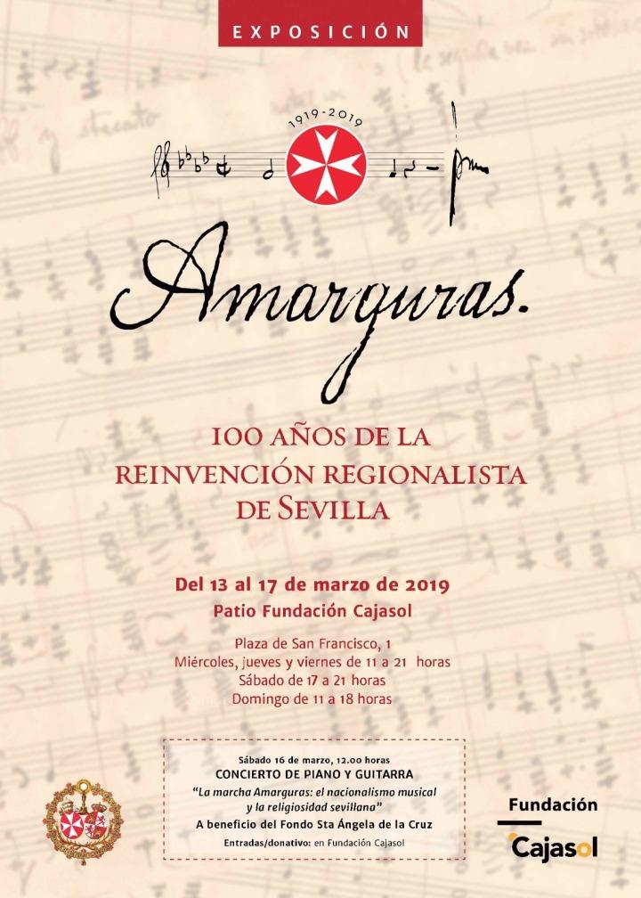 cartel expo-concierto cajasol