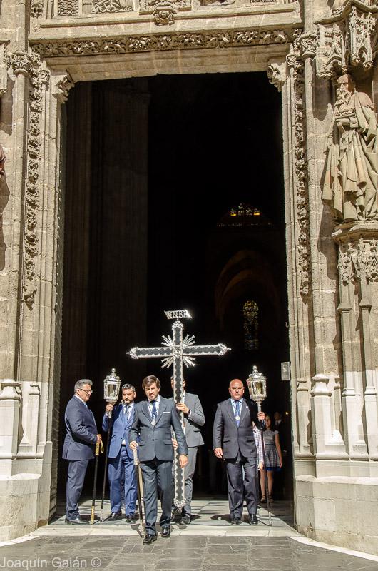 Negritos Procesion por la Coronacion Joaquín Galán © 2019 001