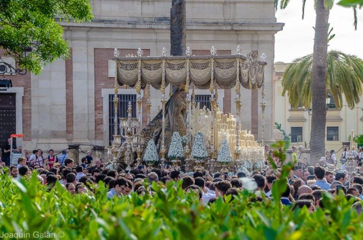 Negritos Procesion por la Coronacion Joaquín Galán © 2019 013