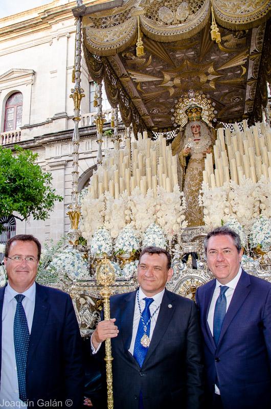 Negritos Procesion por la Coronacion Joaquín Galán © 2019 037
