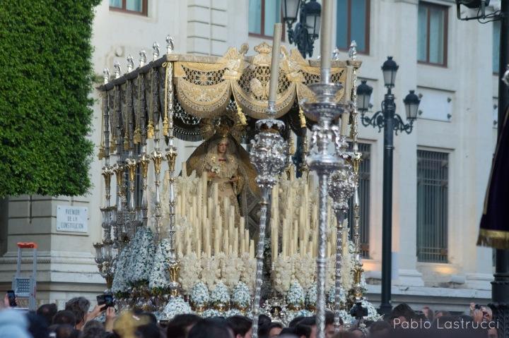 Regreso de la Virgen de los Ángeles tras su coronación (1)