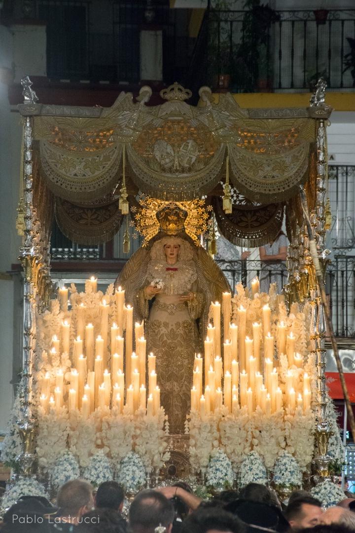 Regreso de la Virgen de los Ángeles tras su coronación (10)