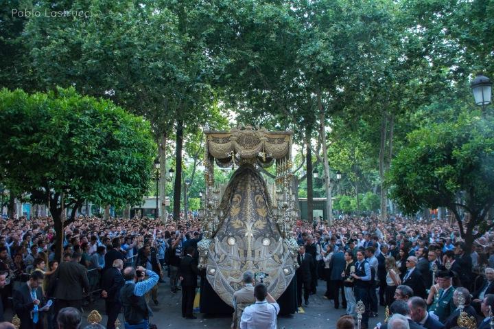 Regreso de la Virgen de los Ángeles tras su coronación (11)