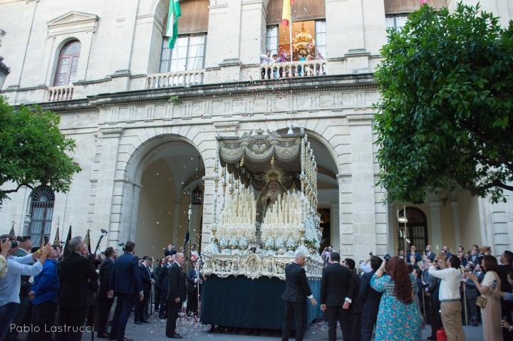 Regreso de la Virgen de los Ángeles tras su coronación (14)
