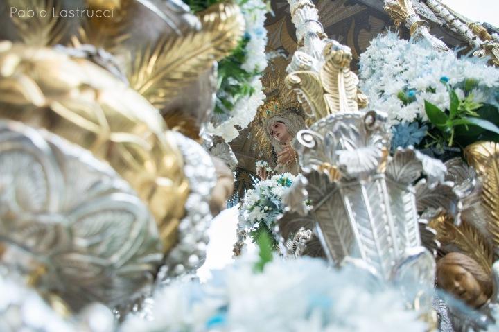Regreso de la Virgen de los Ángeles tras su coronación (16)