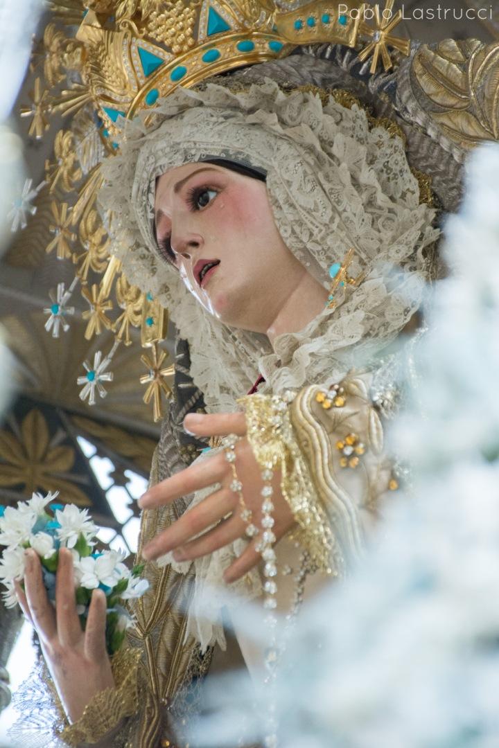 Regreso de la Virgen de los Ángeles tras su coronación (17)