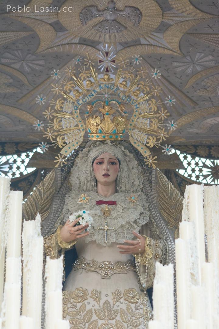 Regreso de la Virgen de los Ángeles tras su coronación (22)
