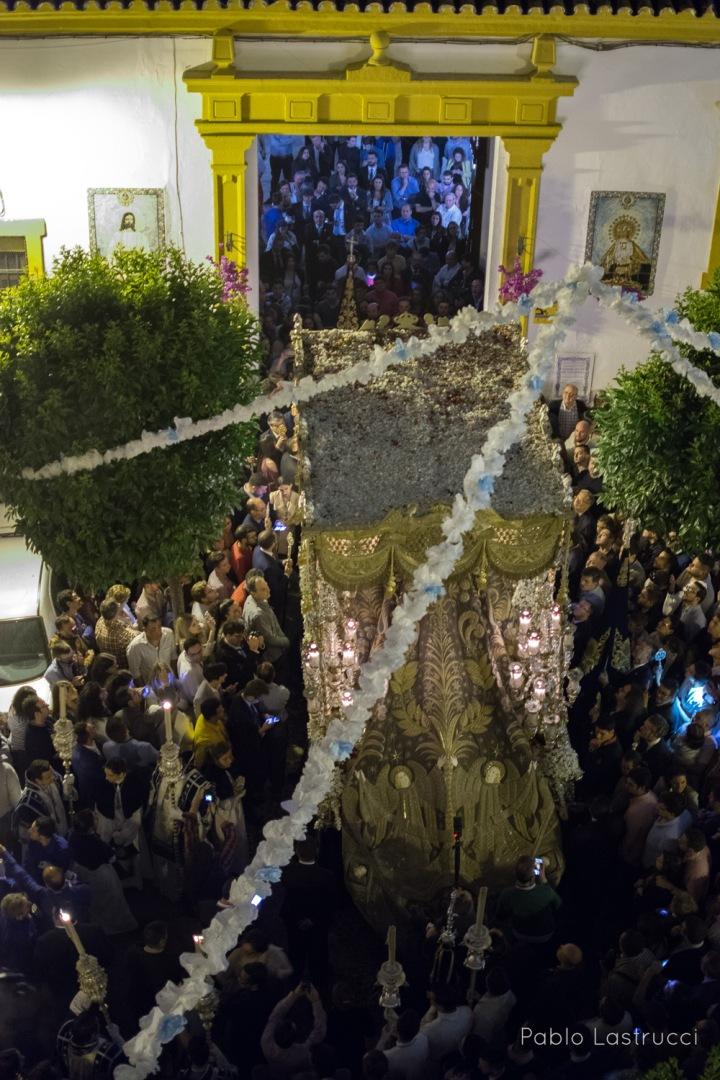 Regreso de la Virgen de los Ángeles tras su coronación (3)