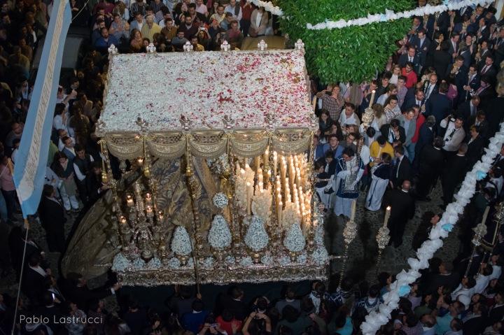 Regreso de la Virgen de los Ángeles tras su coronación (4)
