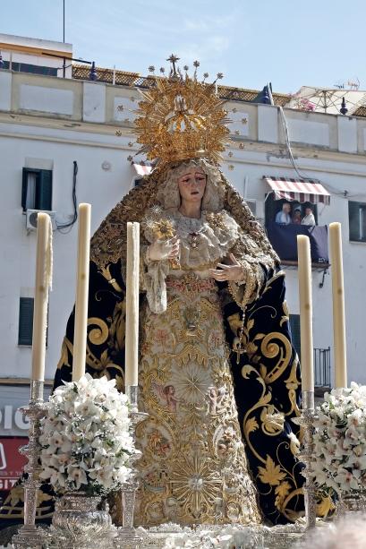 Traslado de la Hermandad de la Estrella a la Parroquia de San Jacinto. LUIS MANUEL JIMÉNEZ (24)